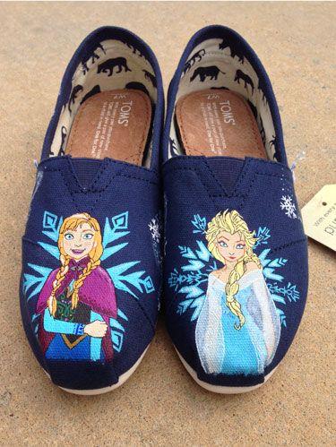 Etsy Frozen Sneakers - Frozen Fan Gear