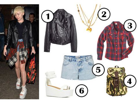 7140b371cdd2 Miley Cyrus 90s Grunge Outfit Idea - What To Wear This Weekend