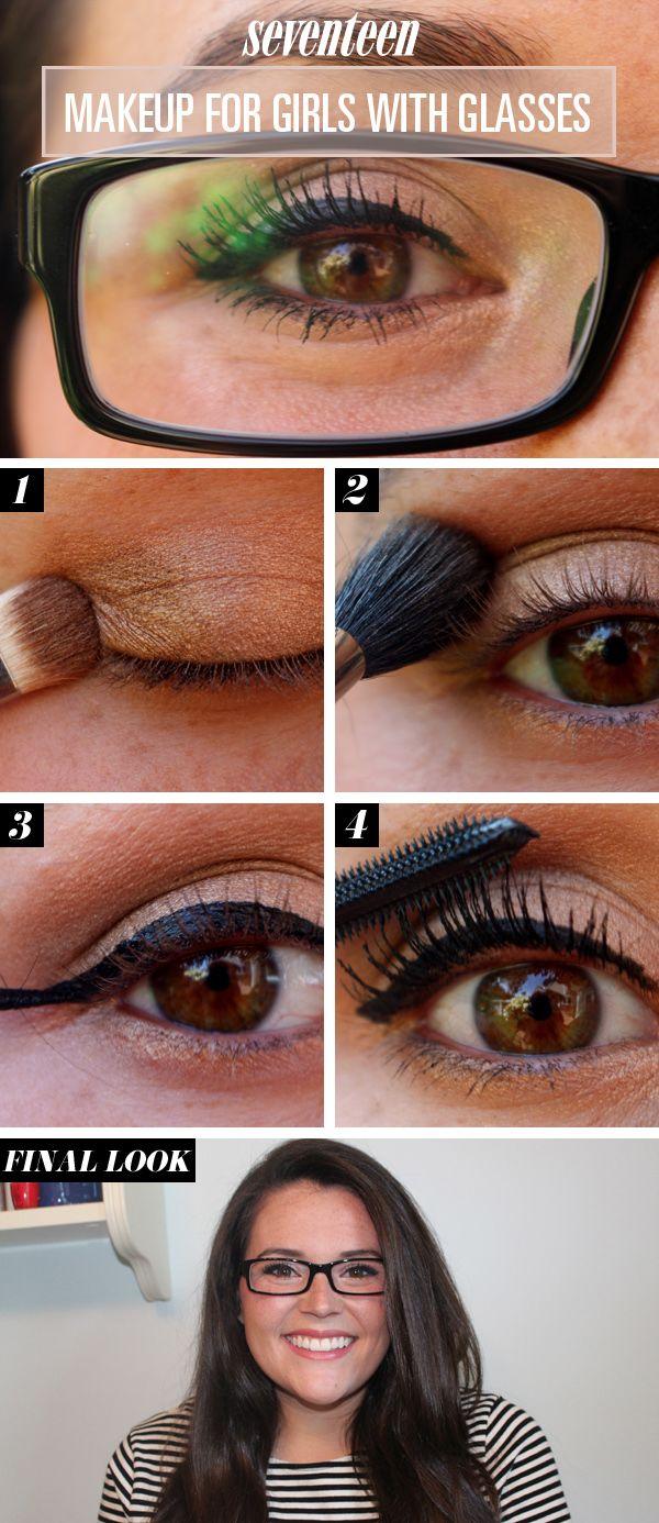 Eye Makeup For Glasses Tutorial - Makeup For Glasses