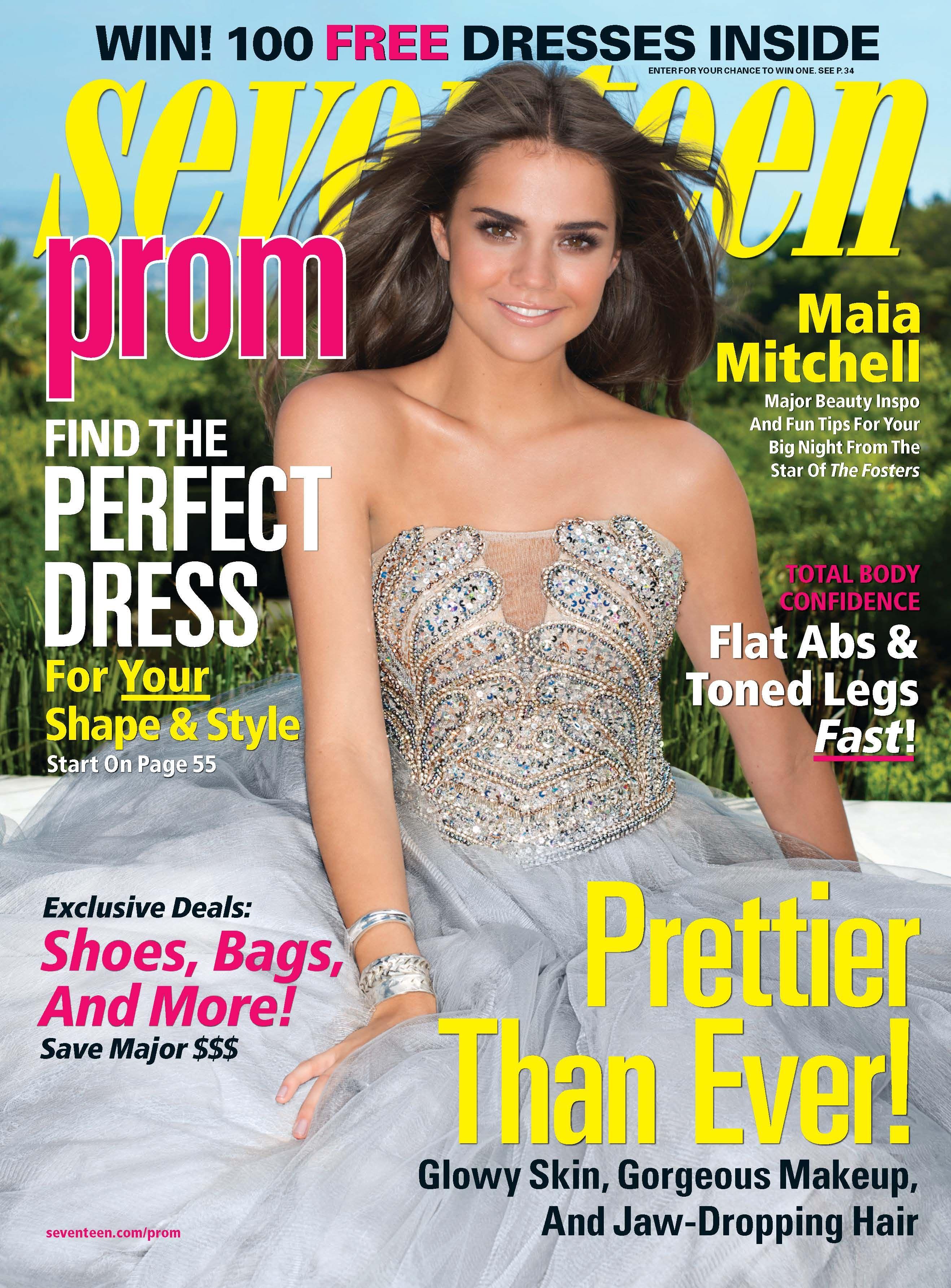Maia Mitchell Interview - Maia Mitchell Seventeen Prom 2015