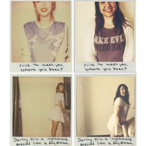 Taylor Swift Fan Recreates 1989 Album Polaroids Taylor Swift Reblogs Tumblr Fans Album Recreation