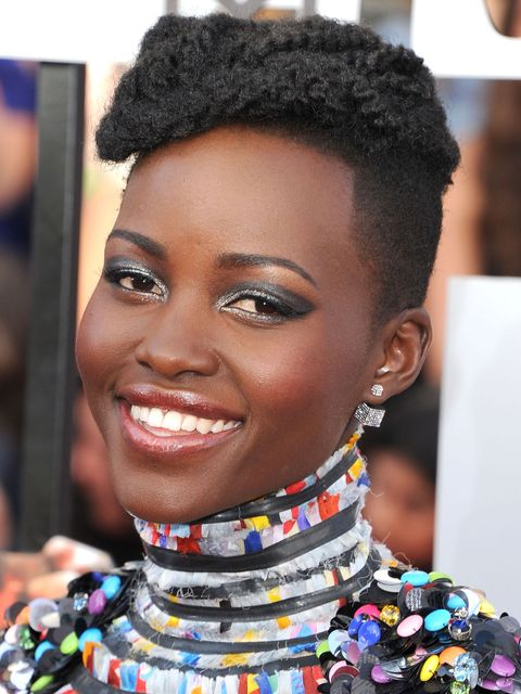 lupita nyong'o hair tutorial