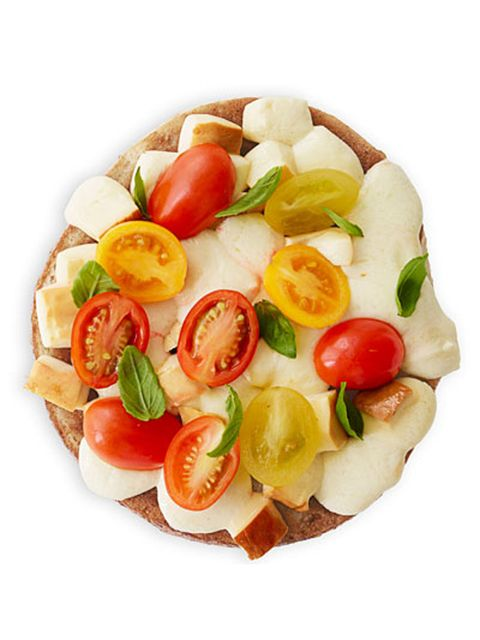 a grown up pizza bagel idea