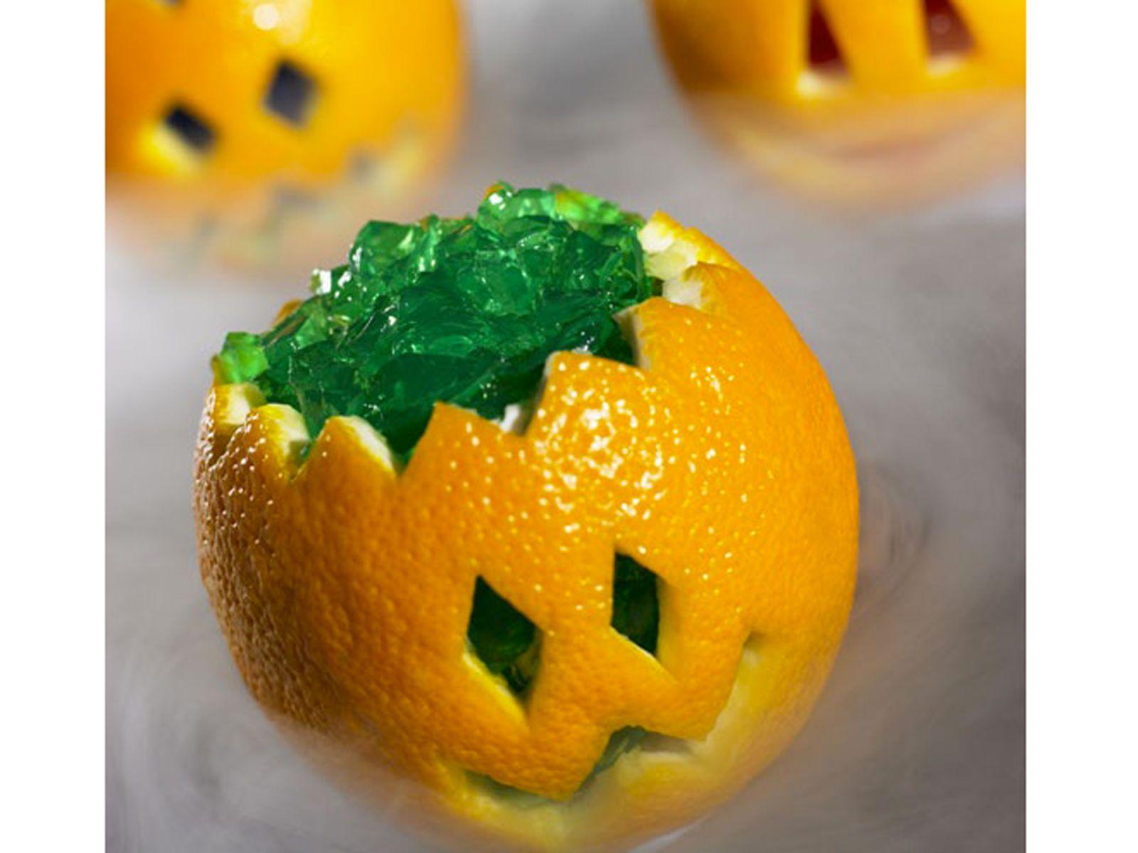jello pumpkins for halloween