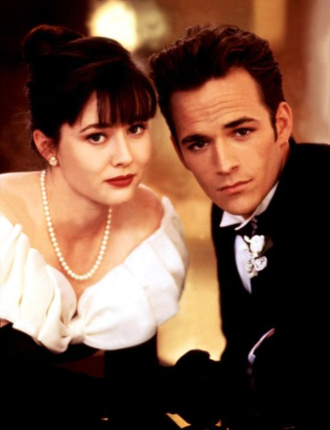 brenda walsh prom dress beverly hills 90210