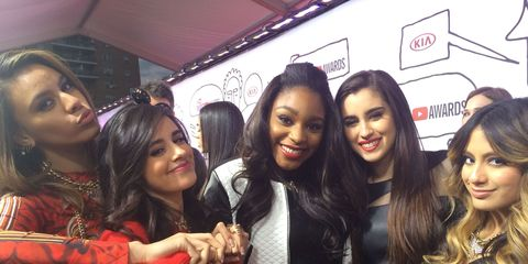 the girls of fifth harmony rocked the red carpet