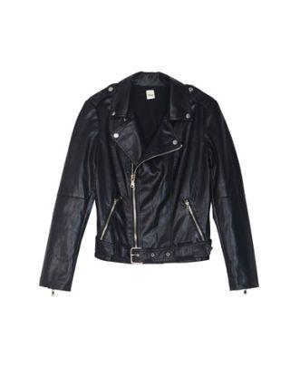 Clothing, Jacket, Coat, Collar, Sleeve, Textile, Outerwear, White, Leather, Fashion,