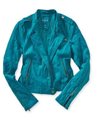 Aeropostale Leather Jacket