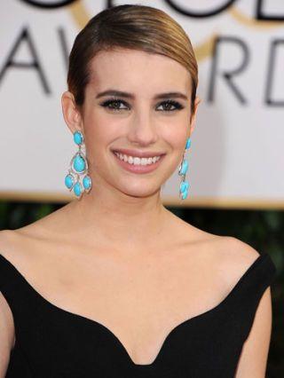 Emma Roberts: Turquoise Jewelry
