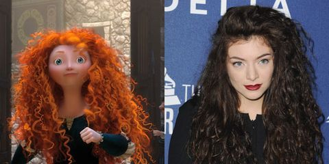 8 Celebrity Hairstyles Inspired By Disney Princesses