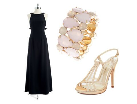Product, Dress, White, Formal wear, Style, One-piece garment, Fashion, Black, Day dress, Tan,