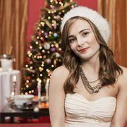 Lighting, Event, Eye, Interior design, Winter, Room, Interior design, Dress, Fashion accessory, Christmas decoration,