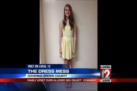 Ohio Teen Told To Cover Her Bare Shoulders At School Dance Middle