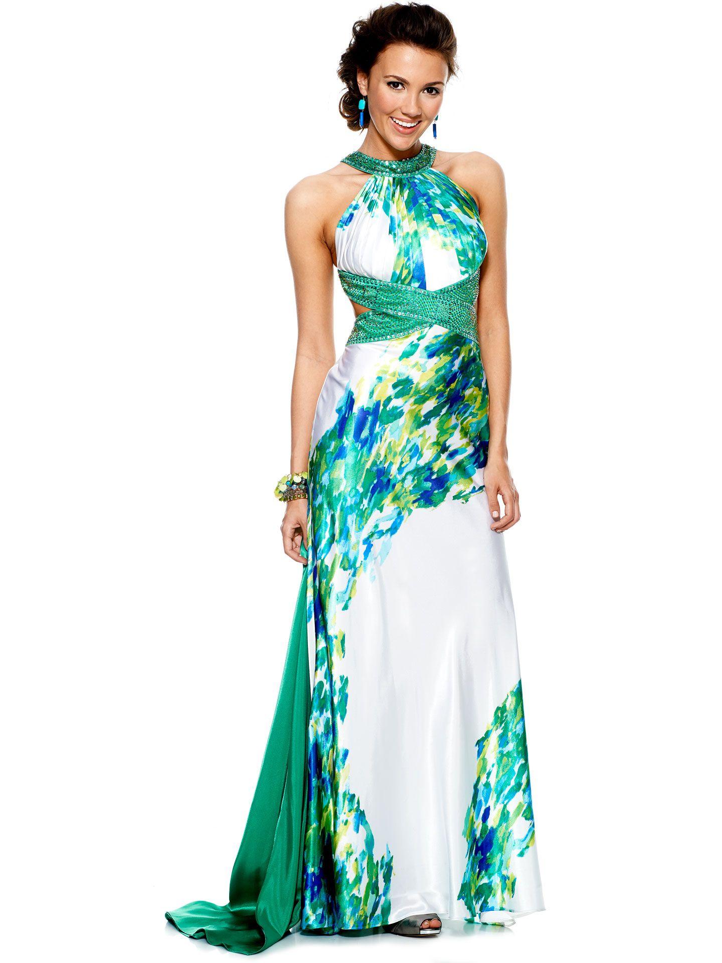 Camo Prom Dresses - Colorful Prom Dresses