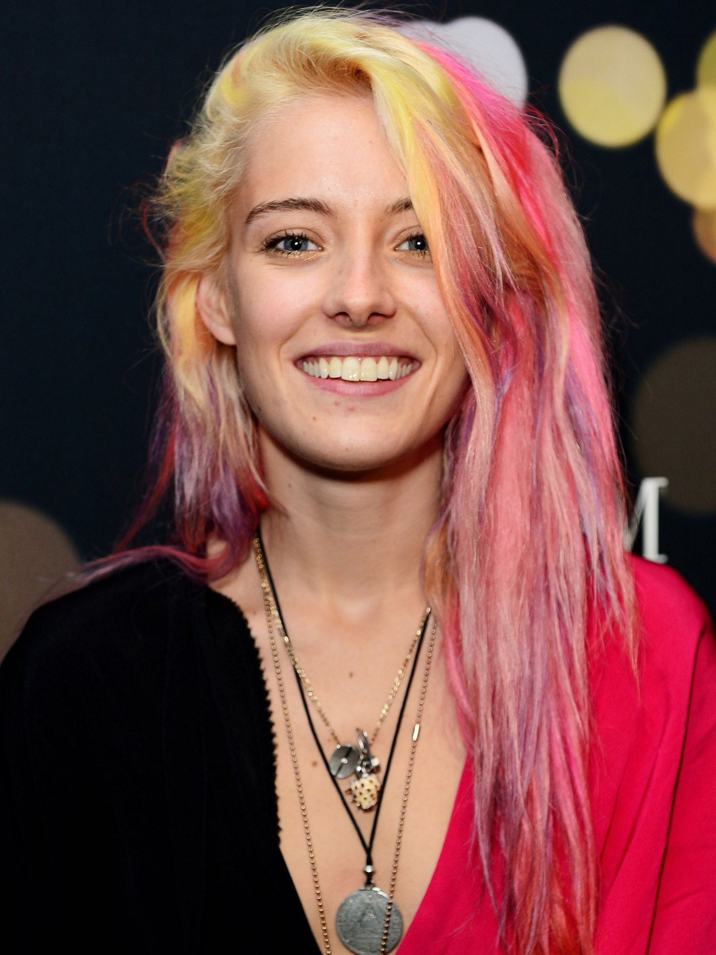 Rainbow Hair Colors On Celebrities Cotton Candy Hair