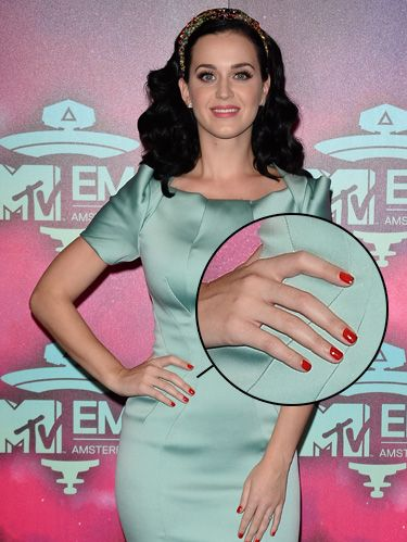Katy Perry's Classic Red