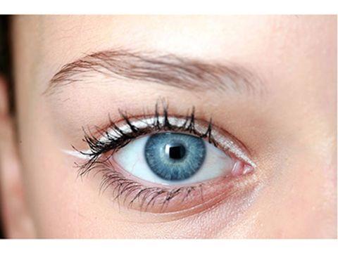 Blue, Brown, Skin, Eyelash, Eyebrow, Iris, Colorfulness, Organ, Beauty, Violet,