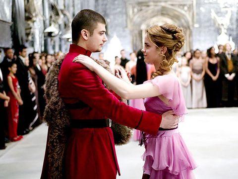 hermione granger dancing