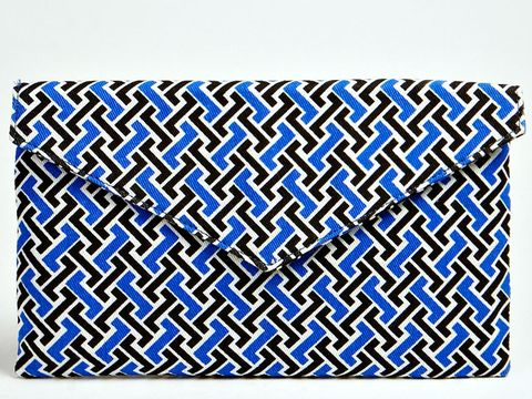Bright Patterned Clutch