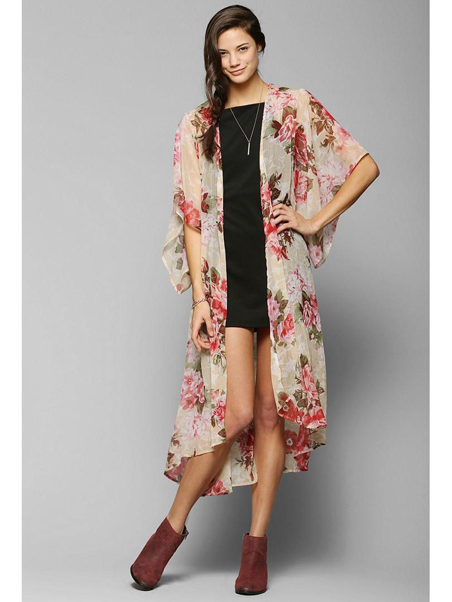 11 Cute Kimonos For Spring - Cheap Kimono Jackets