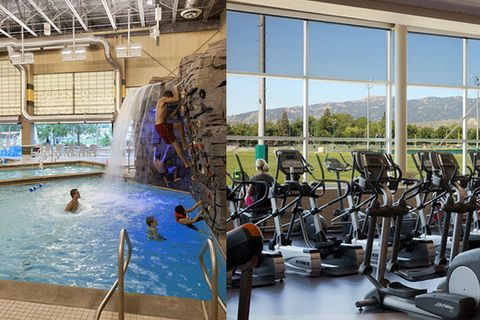 Swimming pool, Leisure, Exercise machine, Water park, Leisure centre, Elliptical trainer, Resort, Exercise equipment, Amusement park, Daylighting,