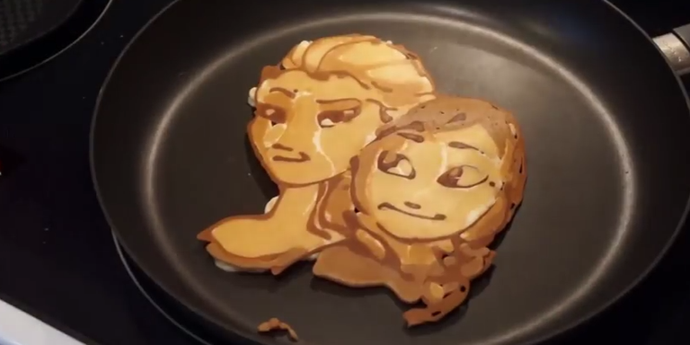 Dad Makes Coolest Pancakes Ever!