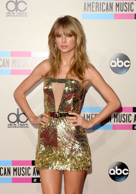 at the american music awards