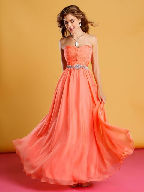 Yellow Prom Dresses Orange Prom Dresses