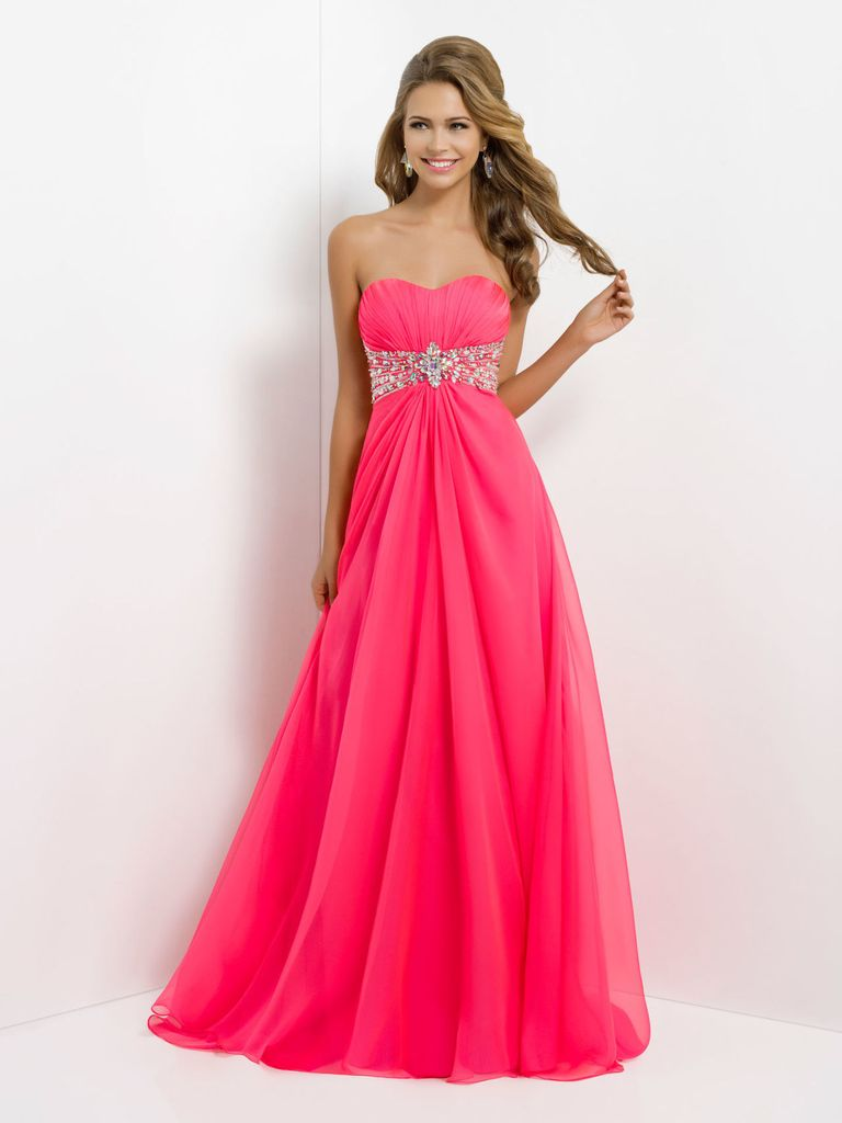 27 prettiest pink prom dresses 2016. Black Bedroom Furniture Sets. Home Design Ideas