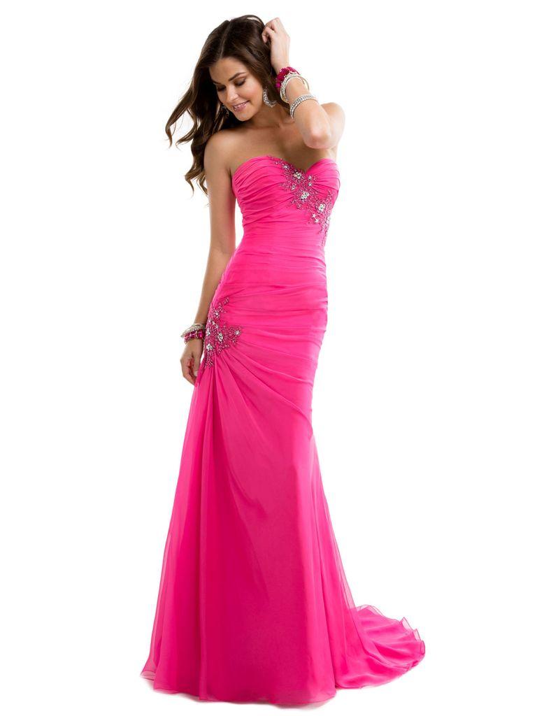 27 prettiest pink prom dresses 2016. Black Bedroom Furniture Sets. Home Design Ideas