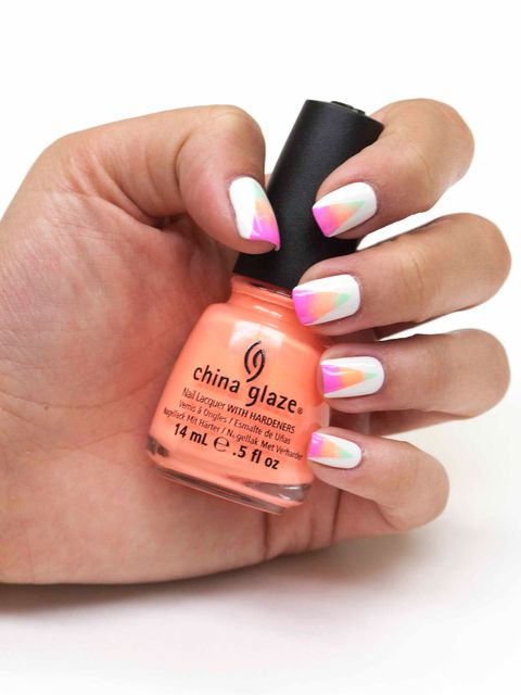 Image Courtesy Of China Glaze Neon Art Deco Nails