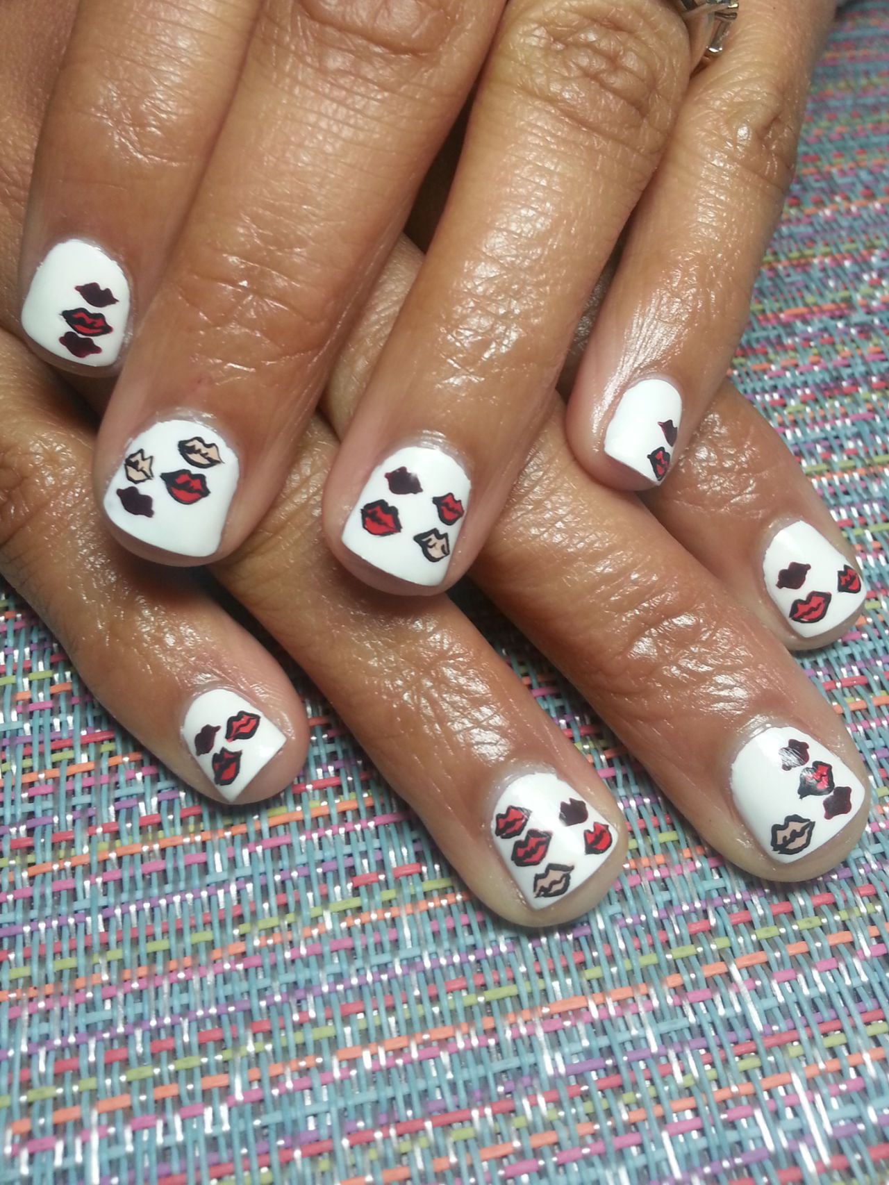 14 fun valentines day nail art designs v day nail inspiration - Valentines Nail