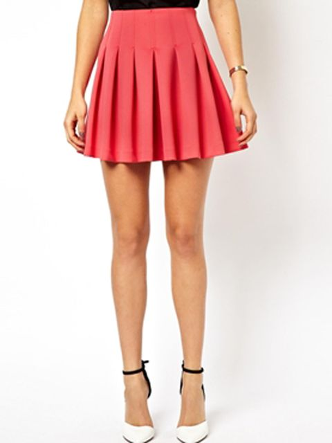 asos cheerleader skirt