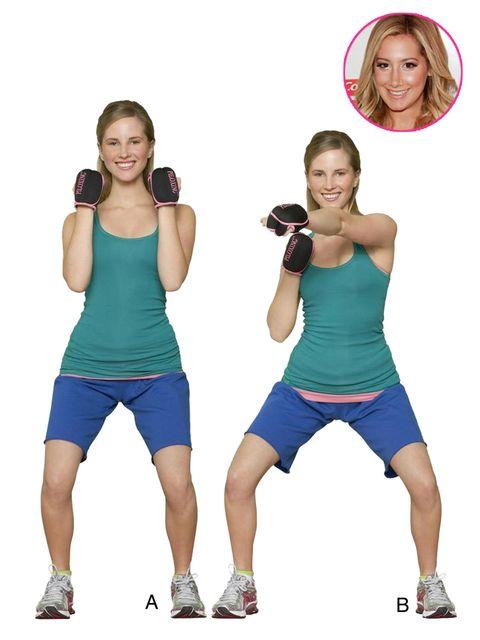 celebrity fitness tips ashley tisdale