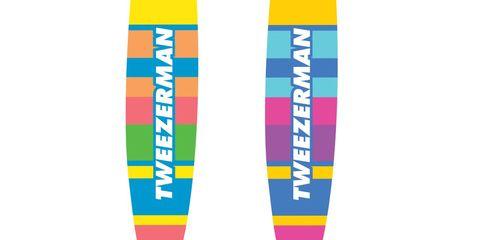 Tweezerman Striped Mini Slant Tweezers