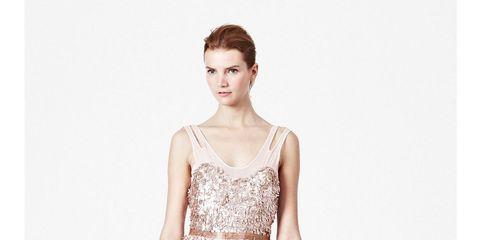 Shimmer Shower Midi Dress