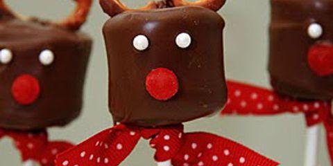 Pinterest Reindeer Marshmallow Pops
