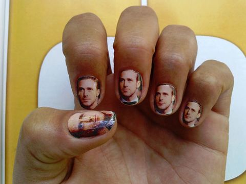 Finger, Skin, Thumb, Nail, Flesh, Paint, Nail care, Tattoo, Drawing,