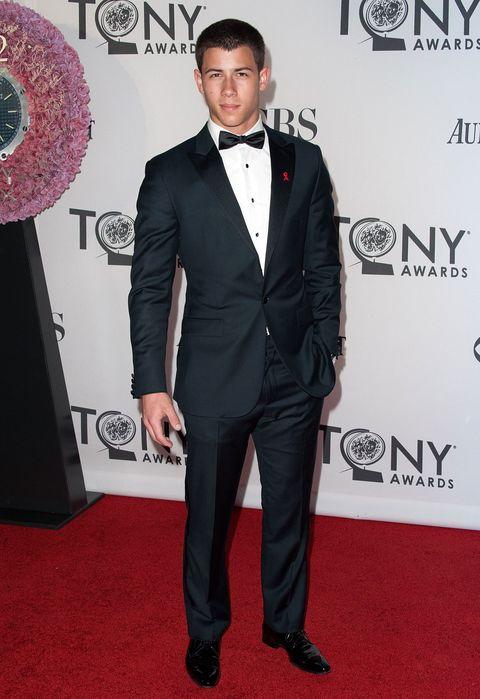 Nick Jonas Tux