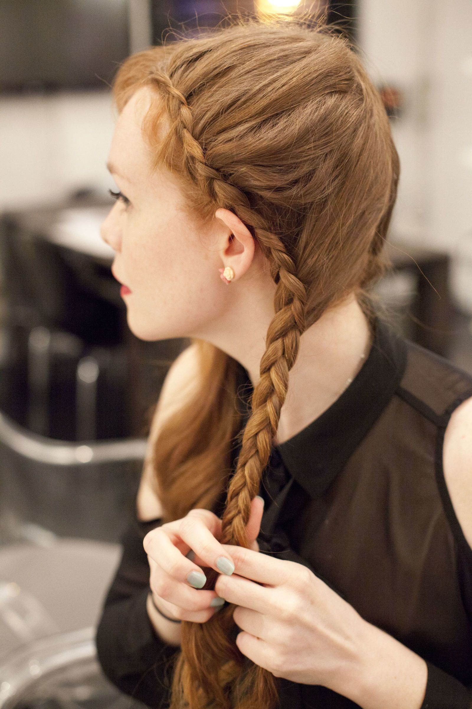easy french braided hairstyles - new ways to braid your hair