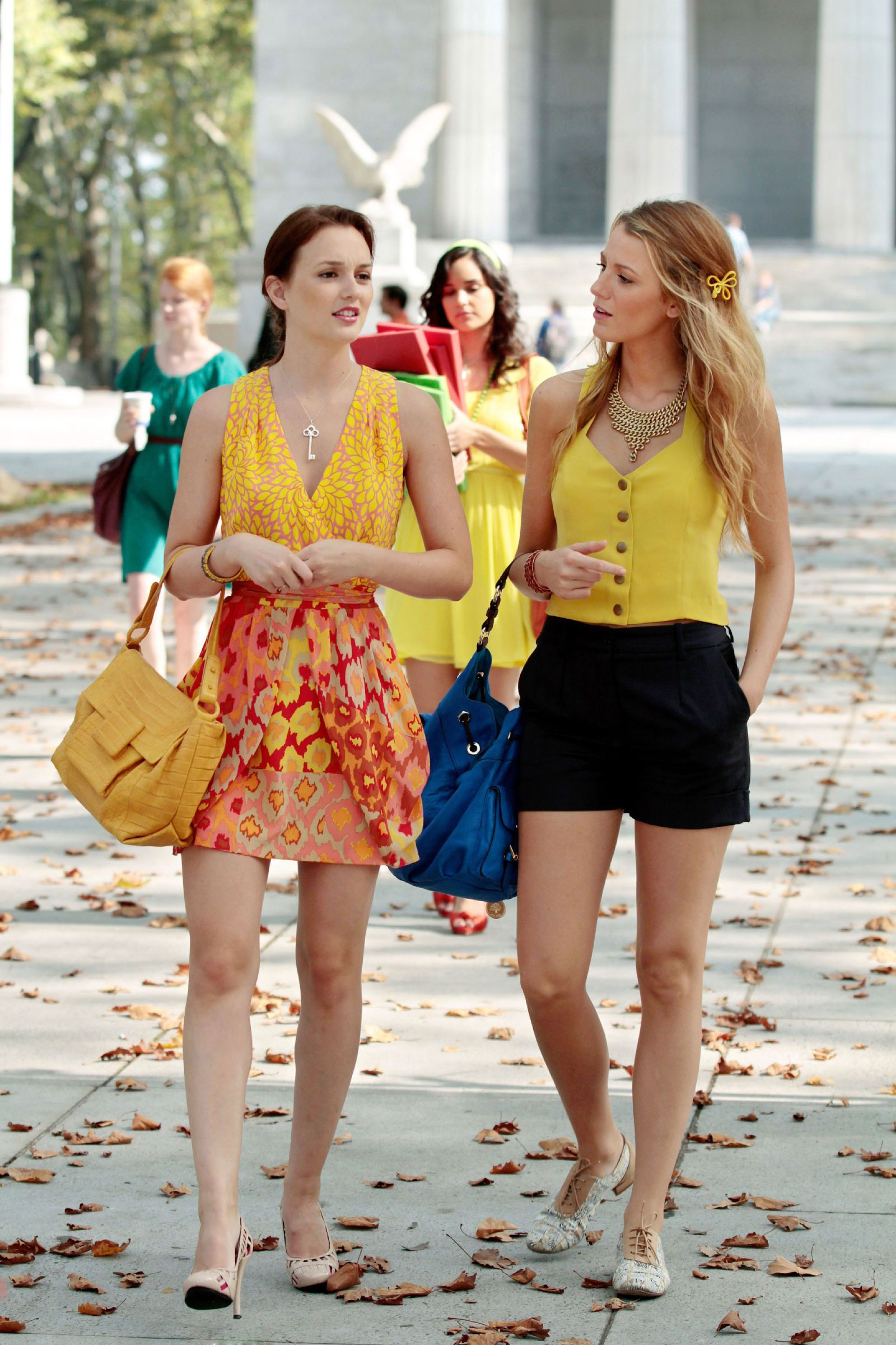 blair and serena, gossip girl