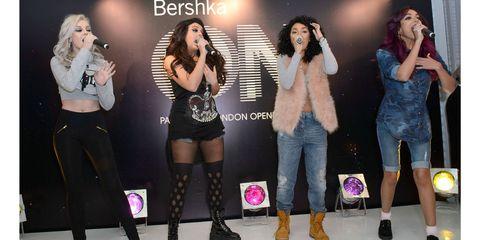 Little Mix Singing Together