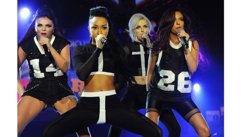 Little Mix Dacing On Stage