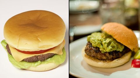 Cheeseburger vs. Hamburger