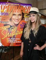 ashlee simpson and her seventeen  cover