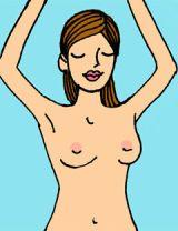 breast exam step 2