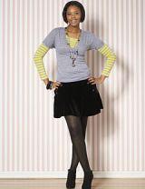 curvy thighs model