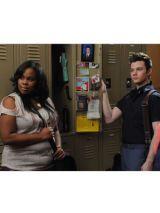 Glee's Mercedes and Kurt
