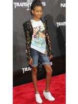 Willow Smith's Wedge Sneakers