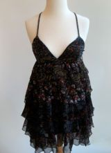 ruffle dress from patterson j kincaid